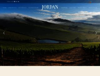 jordanwines.com screenshot