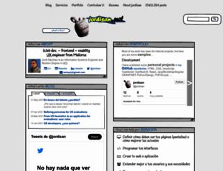 jordisan.net screenshot