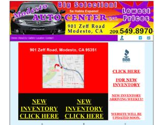jorgesautocenter.com screenshot