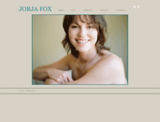 jorjafox.org screenshot