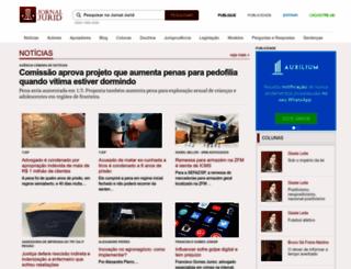 jornal.jurid.com.br screenshot