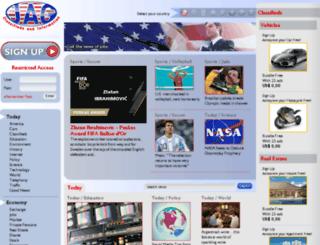 jornalamericanogratuito.com screenshot