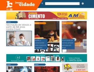 jornaldacidadearuja.com.br screenshot