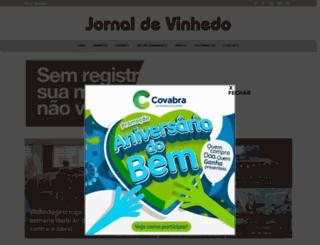 jornaldevinhedo.com.br screenshot