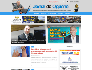jornaldoogunhe.com screenshot