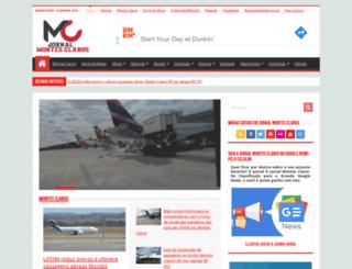 jornalmontesclaros.com.br screenshot