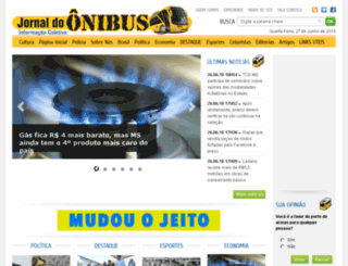 jornalonibus.tnx.com.br screenshot