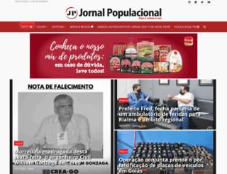 jornalpopulacional.com.br screenshot