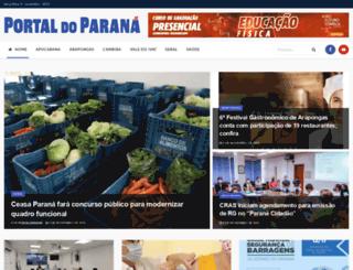jornalportaldoparana.com.br screenshot