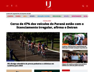 jornaluniao.com.br screenshot