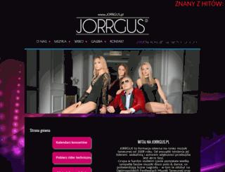 jorrgus.pl screenshot