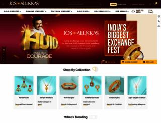 josalukkasjewellery.com screenshot