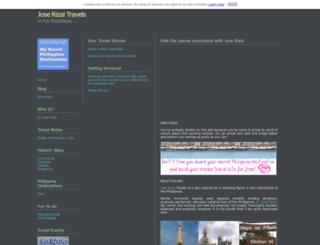 jose-rizal-travels.com screenshot