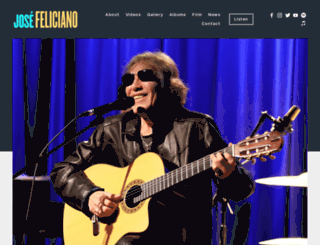 josefeliciano.com screenshot