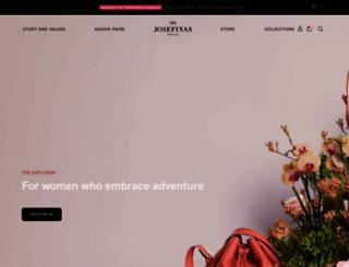 josefinas.com screenshot