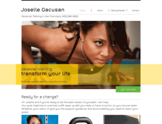 josellegacusan.com screenshot