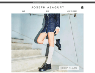 josephazagury.co.uk screenshot
