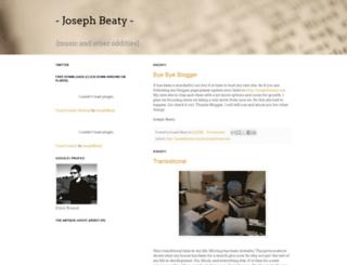 josephbeatynews.blogspot.com screenshot