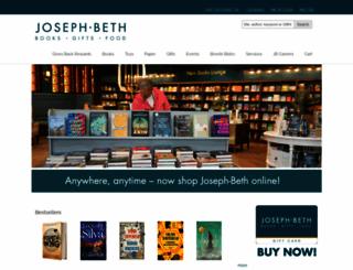 josephbeth.com screenshot