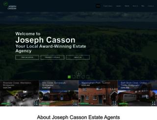 josephcasson.co.uk screenshot
