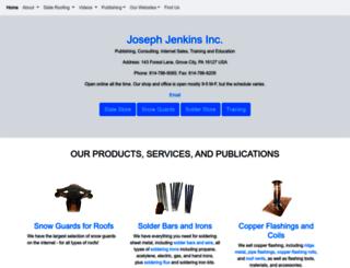 josephjenkins.com screenshot
