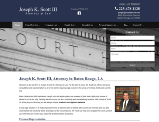josephkscott.com screenshot