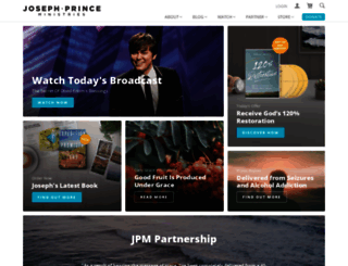 josephprince.org screenshot