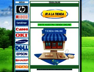 joseramonventadetonerycartuchos.webgarden.es screenshot