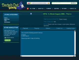 josh-environment.crystalcommerce.com screenshot