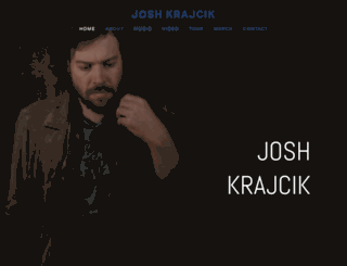 joshkrajcik.com screenshot