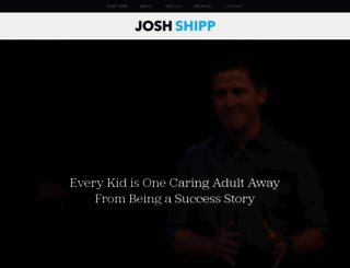 joshshipp.com screenshot