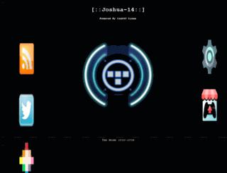 joshua14.homelinux.org screenshot