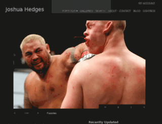 joshuahedges.photoshelter.com screenshot