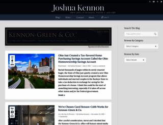 joshuakennon.com screenshot