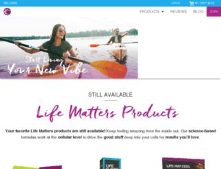 joshuawold.lifeshotz.com screenshot
