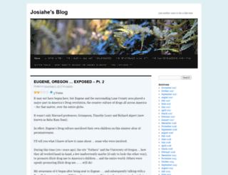 josiahe.wordpress.com screenshot
