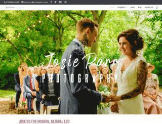josieparr.com screenshot
