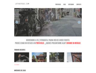 jotaefege.com screenshot