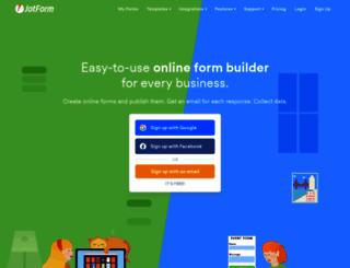 jotformpro.com screenshot