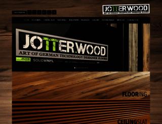 jotterwood.com screenshot