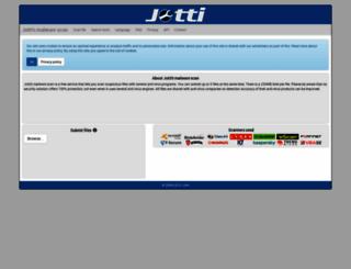 jotti.org screenshot