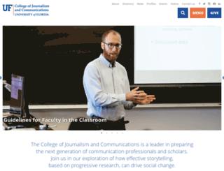 jou.ufl.edu screenshot