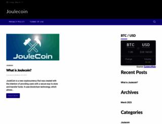 joulecoin.org screenshot