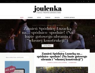 joulenka.pl screenshot