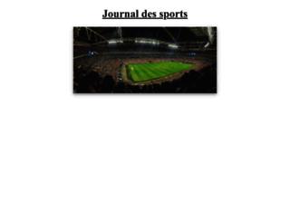 journal-des-sports.com screenshot