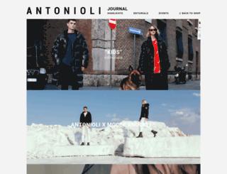 journal.antonioli.eu screenshot