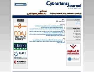 journal.cybrarians.info screenshot