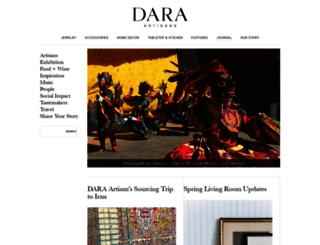 journal.daraartisans.com screenshot