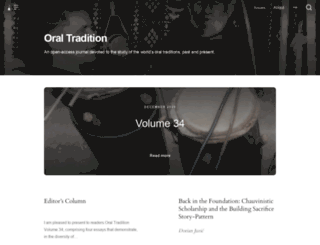 journal.oraltradition.org screenshot
