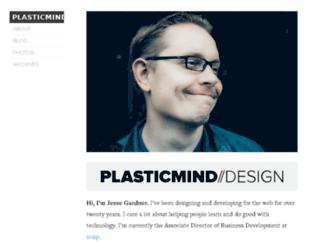 journal.plasticmind.com screenshot